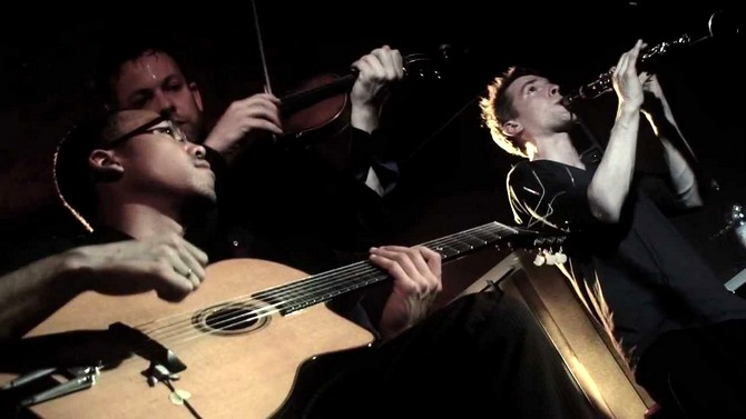 Django Lassi - moderner Balkanswing - band-live
